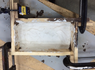 Mentoring students: mold making
